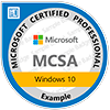 MCSA: Windows 10